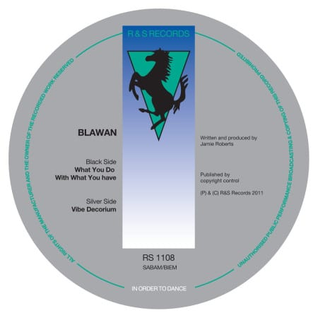 Blawan What You Do With What You Have / Vibe Decorium