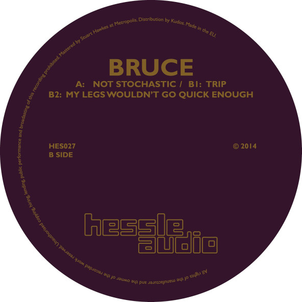 Hessle Audio announce debut record by Bruce - Released 27th October