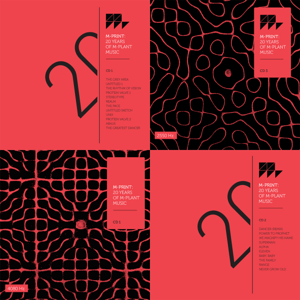 Win Robert Hood '20 Years Of M-Plant Music' triple CD compilation