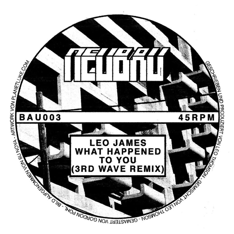 Review: Leo James: What Happened To You EP - Inverted Audio