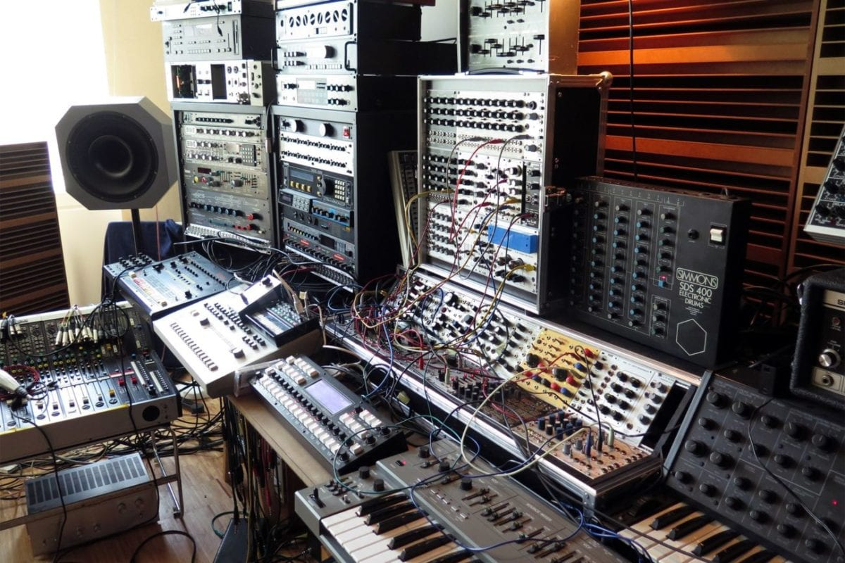 In The Studio with Efdemin - Photo by Tom Durston for Inverted Audio
