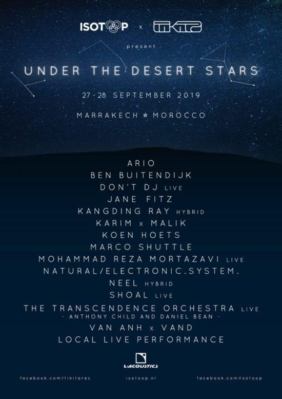 Under The Desert Stars
